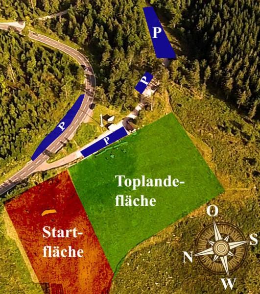 Bild 1 Startplatz