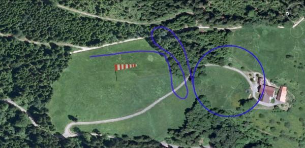 Bild 7 Landeplatz West nordwind
