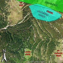 Bild 2. FFH-Gebiet und Modelfluggelände